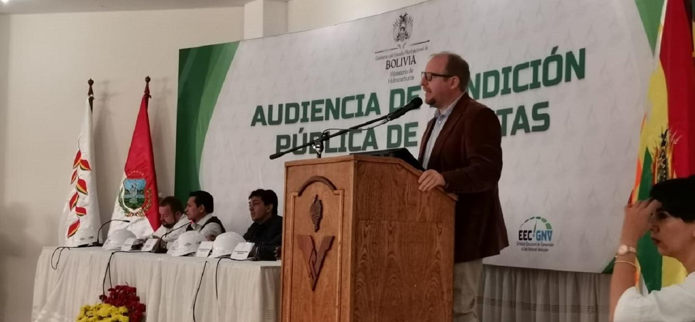 Oliva destaca coordinación con el Gobierno Nacional que busca la construcción de una agenda compartida