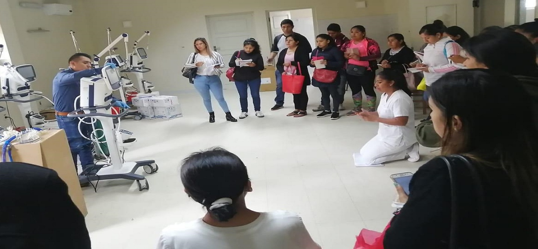 Tarija recibe primeros 13 equipos para sala de terapia intensiva que atenderá casos de coronavirus